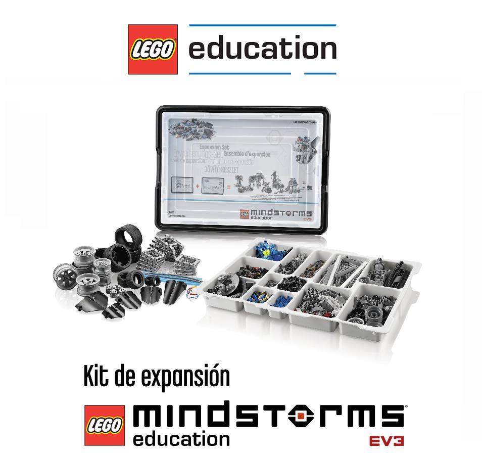 Kit de expansión LEGO Education EV3